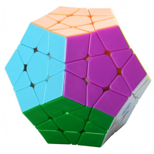 Кубик Рубика 0934C-1 QiYi X-Man Megaminx (Plane Stickerless)