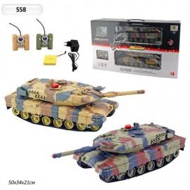 Радиоуправляемый танковый бой HuanQi 558